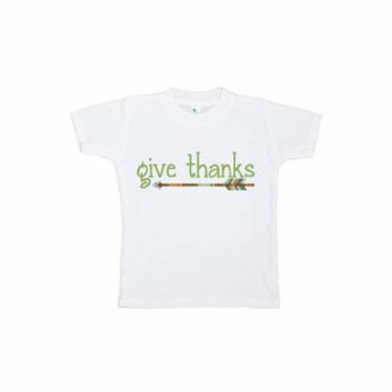 Custom Party Shop Baby's Give Thanks Thanksgiving Tshirt - 3T