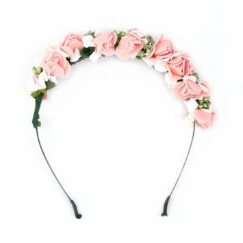Flower Garland Floral Bridal Headband Hairband Wedding Prom Hair Accessories Wedding Jewelry Headwear Accessories