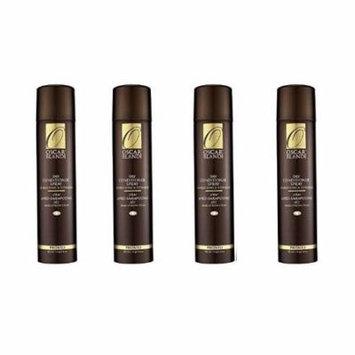 Oscar Blandi Dry Conditioner Spray, Pronto, 4 Oz (Pack of 4) + Schick Slim Twin ST for Sensitive Skin