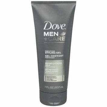 Dove Men+Care Hair Styling Controlling Gel 7.0 oz.(pack of 6)