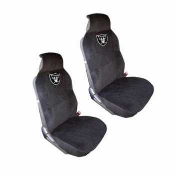 Oakland Raiders 2 Seat Covers