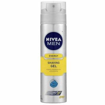 Nivea Men Energy Q10 Shaving Gel 7.0 oz(pack of 4)