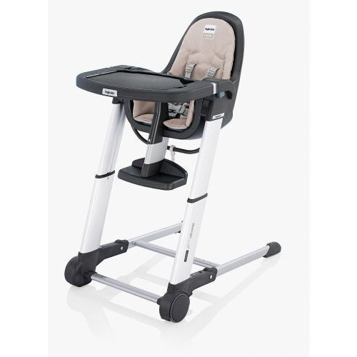Inglesina 2012 Zuma Gray Highchair, Cream (Discontinued by Manufacturer)
