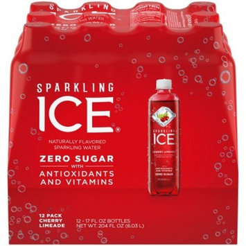 Sparkling Ice® Cherry Limeade - 12pk/17 fl oz Bottles
