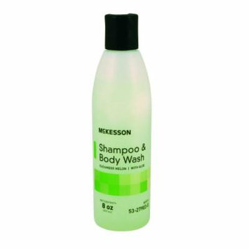 McKesson hampoo and Body Wash 8 oz. Squeeze Bottle, Cucumber Melon Scent, Case of 48