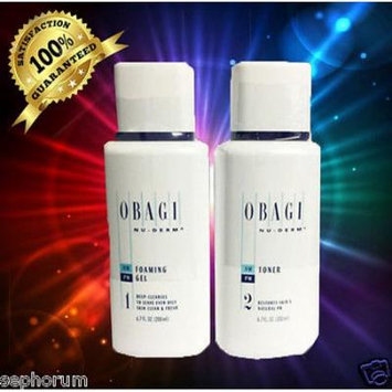 Obagi Nu-Derm Cleanse & Tone OILY - Foaming Gel & Toner