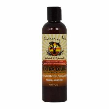 Sunny Isle Jamaican Extra Dark Shampoo Moisturizing 8oz (3 Pack)