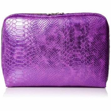 LeSportsac Classic Extra Large Rectangular Cosmetic Case (Purple Snake)