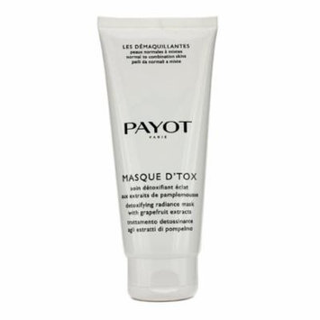 Payot - Les Demaquillantes Masque D'Tox Detoxifying Radiance Mask - For Normal To Combination Skins (Salon Size) -200ml/6.7oz