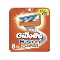 Gillette Fusion Power Refill Blade Cartridges, 8 Count + Scunci Black Roller Pins, 18 Pcs