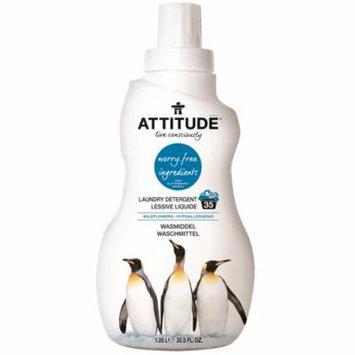 ATTITUDE, Laundry Detergent, Wildflowers, 35.5 fl oz (pack of 2)