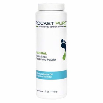 Natural Eucalyptus Foot and Shoe Deodorizing Powder for Athletes. Removes Odor, Stink From Bacteria. Odor Eliminator is Better Than Antiperspirant, Insoles, Sneaker Balls. Use on Feet, Shoes.