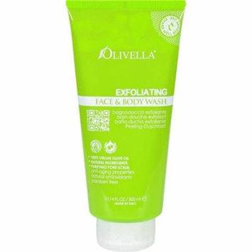 Olivella HG1584424 10.14 fl oz Face & Body Wash - Exfoliating