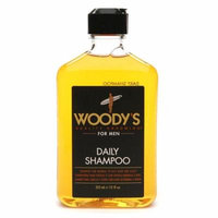 Woody's Daily Shampoo for Men, Normal to Oily Hair & Scalp 12.0 OZ(pack of 6)