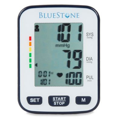 Bluestone 3.25 in. x 2.5 in. Automatic Wrist Blood Pressure Monitor