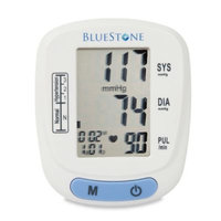 Bluestone 3 in. x 2.5 in. Automatic Wrist Blood Pressure Monitor with 120 Memory