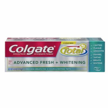 Colgate Total Advanced Toothpaste Gel Fresh & White 4.0 oz.(pack of 6)