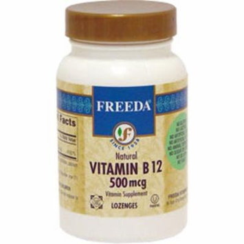 Freeda Kosher Vitamin B12 500 Mcg - 100 Lozenges