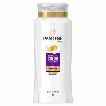 Pantene Pro-V Radiant Color Volume Shampoo 20.1 oz(pack of 4)
