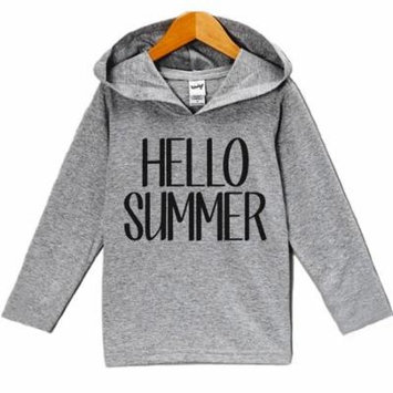 Custom Party Shop Unisex Baby Hello Summer Hoodie Pullover - 5