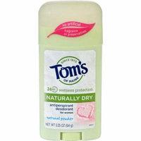 Toms of Maine HG1082791 2.25 oz Womens Antiperspirant Deodorant Natural Powder - Case of 6