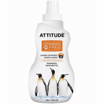 ATTITUDE, Laundry Detergent, Citrus Zest, 35 Loads, 35.5 fl oz (pack of 4)