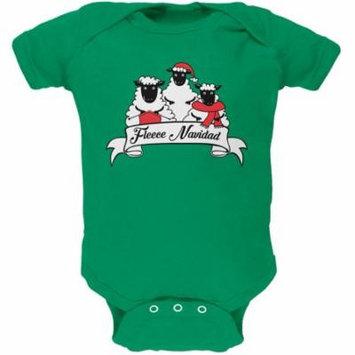 Christmas Sheep Feliz Fleece Navidad Soft Baby One Piece