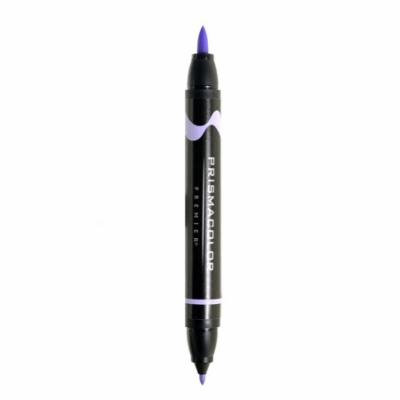 Premier Double-Ended Brush Tip Markers lilac light, 173 (pack of 6)