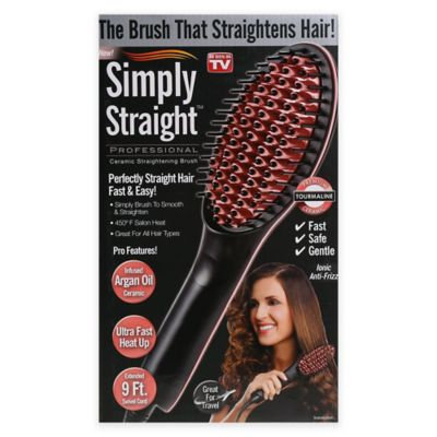 Simply Straight™ Professional Ceramic Straightening Brush