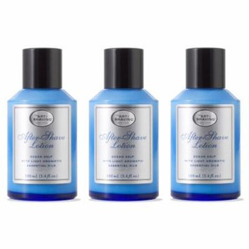 The Art Of Shaving After Shave Lotion, Ocean Kelp, 3.3 Oz (Pack of 3) + Beyond BodiHeat Patch, 1 Ct