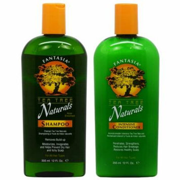 Fantasia Tea Tree Naturals Shampoo + Conditioner 12oz
