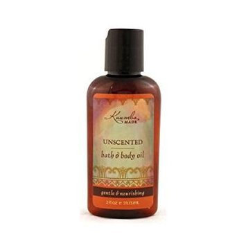 Kuumba Made Unscented Bath & Body Oil - 2 Ounce Bottle