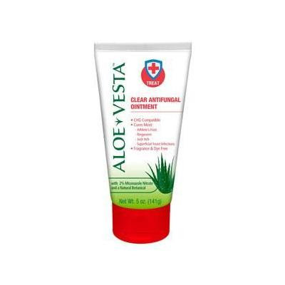 Aloe Vesta 2-in-1 Antifungal Ointment ''1 Count, 5 oz'' 10 Pack