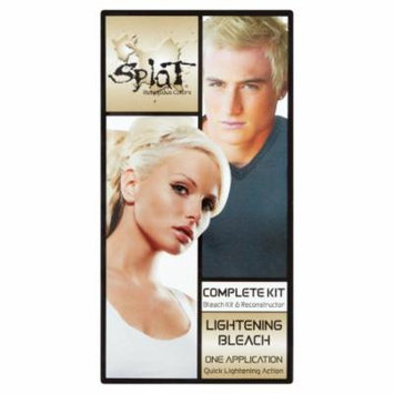 Splat Hair Color Complete Kit, Lightening Bleach 1.0 application(pack of 2)