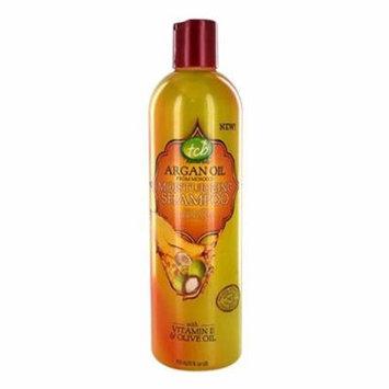 Tcb Naturals Argan Oil Moisturizing Hair Shampoo, 12 Oz, 6 Pack