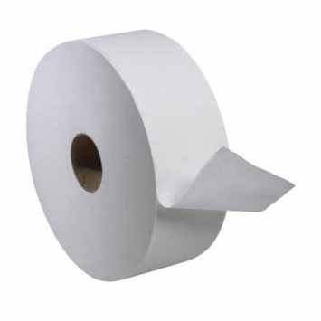 SCA Tissue 12021502 CPC 2 ply Tork Advanced Jumbo Bath Tissue Roll, White - Case of 6