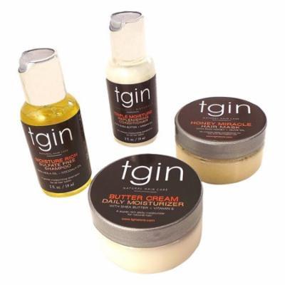 Tgin Moist Collection Sample Pack For Natural Hair, 1 Kit, 3 Pack