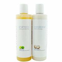Paradise Lime Shampoo & Paradise Coconut Conditioner - Organic Hair Set