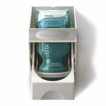 Shampoo and Body Wash Aloe Vesta 1 Liter Bottle, Floral Scent, 10 Pack