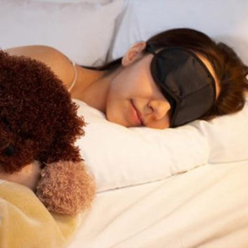 Eye Mask Comfortable Sleeping Mask for Rest Relax Travelling On Sale