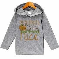 Custom Party Shop Baby Pumpkin Spice Halloween Hoodie - 3T