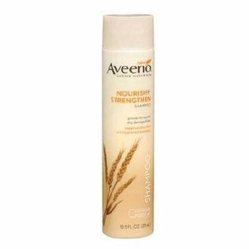 Aveeno Active Naturals Nourish+Strengthen Shampoo 10.5 fl oz(pack of 6)