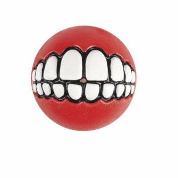 ROGZ Fun Dog Treat Ball in various sizes and colors, Small, Red