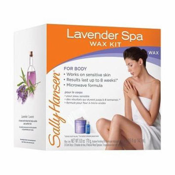 Sally Hansen Spa Body Wax Hair Removal Kit Lavender 1.0 ea(pack of 4)