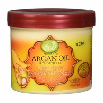 Tcb Naturals Argan Oil Leave In Hair Conditioner, 12 Oz, 2 Pack