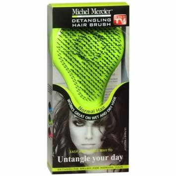 Michel Mercier Professional Detangling Hair Brush Normal Green 1.0 ea(pack of 4)