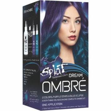 Splat Hair Color Kit, Purple Stars 1.0 ea(pack of 4)