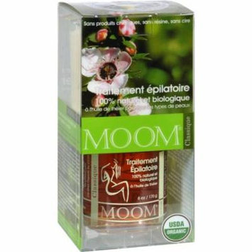 Moom HG0167031 Organic Hair Removal Kit with Tea Tree Classic - 1 Kit