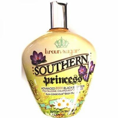 southern princess 200x black bronzer indoor tanning bed lotion 13.5 oz bottle