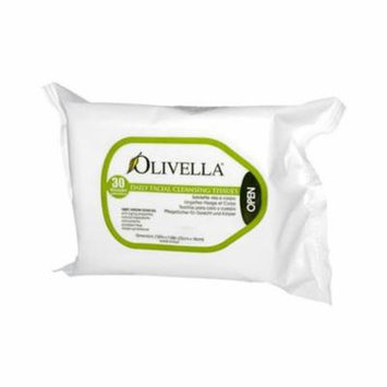 Olivella HG0561845 Daily Facial Cleansing Tissues - 30 Tissues